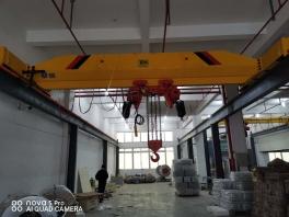 电动单梁配低净空环链葫芦